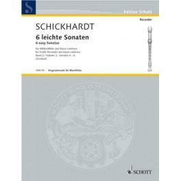 Sechs leichte sonaten 2 (4-6)