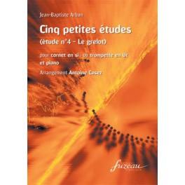 Cinq petites études + CD