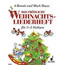 Fröhliche Weihnachtkiederheft (2-3 Violons)