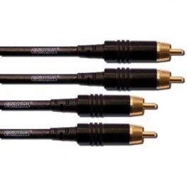 Cable cinch cinch stéréo 3 mètres