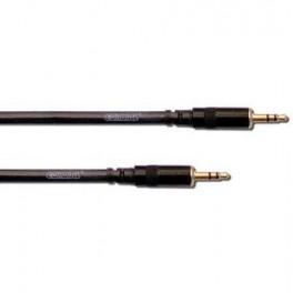 Cable double mini Jack male stéréo 0.6 mètre