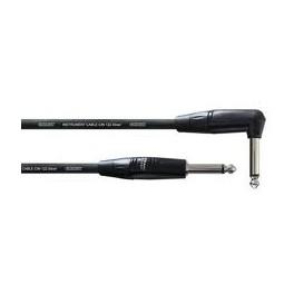 CORDIAL Cable instrument 3m jack - jack coudé