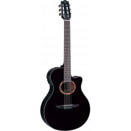 Guitare classique électrique Yamaha NTX700 noire brillant