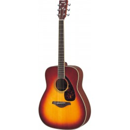 Guitare folk Yamaha FG720S manche 634mm  finition Sunburst