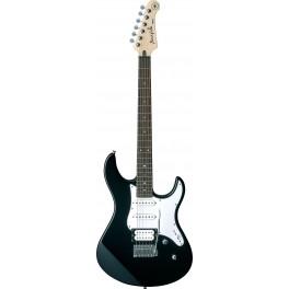 Guitare électrique noire Yamaha Pacifica 112v
