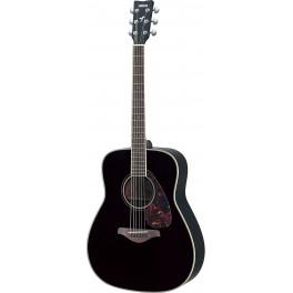Guitare Folk noire Yamaha FS720S