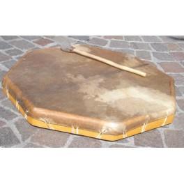 Tambour chamanique avec batte