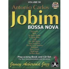 Aebersold Antonio Carlos Jobim + CD