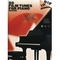 50 film tunes for piano