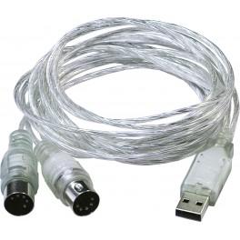 Interface USB 2.0 MidiMate II