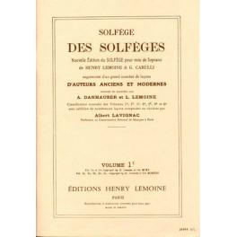 Solfège des solfèges - Volume 1C