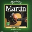 Cordes Martin Extra-Light jeu 12 cordes