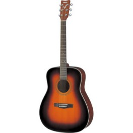 Guitare folk Yamaha F370 TBS manche 634mm sunburst