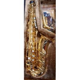 Saxophone alto Selmer Mark VI plaqué or