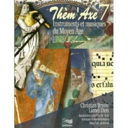 Livre et CD Thèm'Axe 7 Instruments et musique du Moyen Age