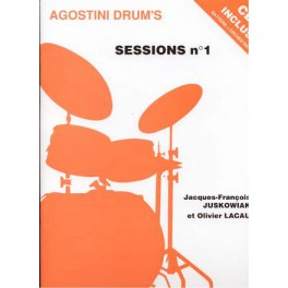 Agostini drum's sessions et CD - Volume 1