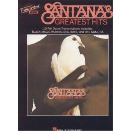 Santana's greatest hits - 10 full score transcriptions
