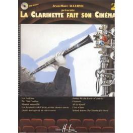 Clarinette fait son cinéma... (la) +CD - Volume 2 (sib)