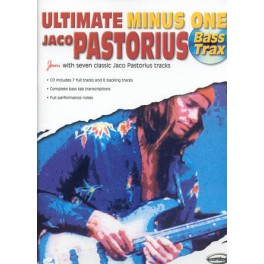 Pastorius Jaco + CD - Ultimate minus one