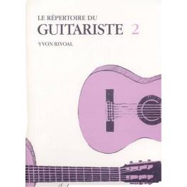 Le Répertoire du guitariste - Volume 2