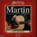Cordes Martin Light jeu 12 cordes