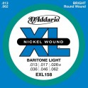 Cordes guitare Baryton Light D'addario
