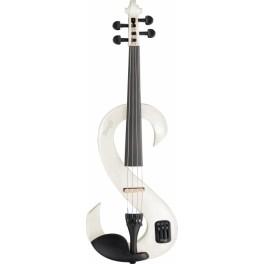 Violon électrique 4/4 White