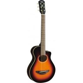 Guitare de voyage électro-acoustique yamaha APXT2 Redburst