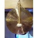 Gong feuille 50 cm avec batte
