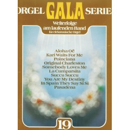 Orgel Gala Serie 19