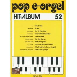 Pop e-orgel Hit-Album 52