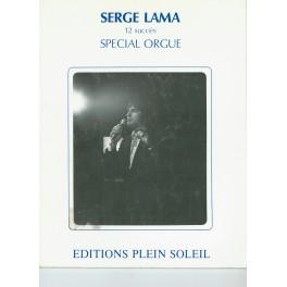 Serge Lama 12 succès spécial orgue