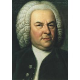 Carte Johann Sebastian Bach