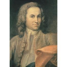 Carte Johann Sebastian Bach 1715