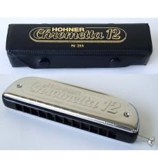 Harmonicas chrometta 12 C-Majeur Hohner chromatique