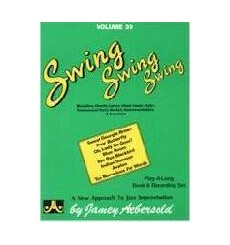 Aebersold Vol 39 Swing Swing Swing + CD