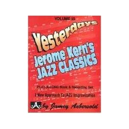 Yesterdeys J.Kern Jazz Classic Vol. 55 J. Aebersold +CD