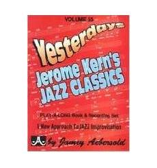 Yesterdeys J.Kern Jazz Classic Vol. 55 J. Aebersold +CD