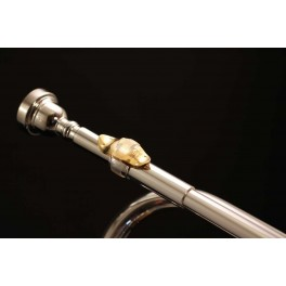 """""""Lefreque"""" pont harmonique en cuivre rouge 33mm pour instruments à vent"""