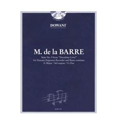 Suite No. 9 du Deuxième Livre en Sol Majeur +CD