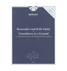 Recercada I and II & Greensleeves to a ground +CD
