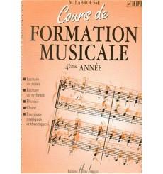 Cours de formation musicale 4ème année