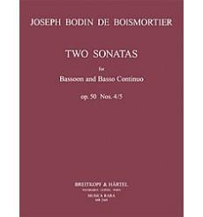 2 Sonates Op. 50 4+5