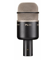 Microphone Electro Voice pour grosse caisse claire PL33