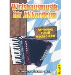 Wirtshausmusik für Akkordeon 4