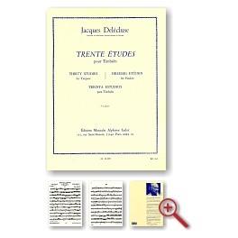 Trente Etudes 3ème cahier