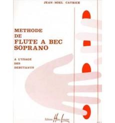 Méthode de flûte à bec soprano et ténor vol 1
