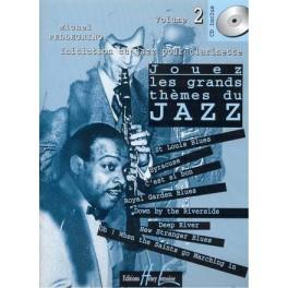 Jouez les plus grands thèmes du jazz + CD - Initiation au jazz pour clarinette vol. 2