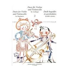 Duos pour violon et violoncelle Vol.2
