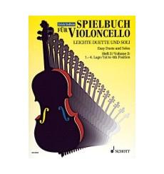 Duos faciles et solos position 1-4 violoncelle vol. 2
